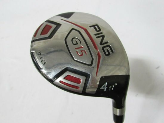 Picture of Used Ping G15 17* 4 Fairway Wood Proforce V2 77 Graphite Shaft Stiff S Flex