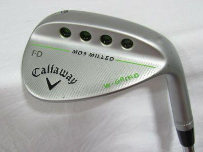 Picture of Callaway MD3 Chrome Single 58* Wedge - Stiff Flex Steel