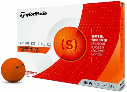 Picture of Taylormade Project S Golf Balls Orange Project (S)